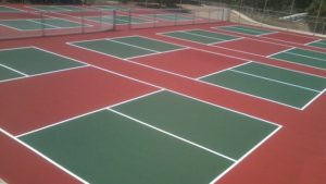 Pickleball Court Construction Specifications
