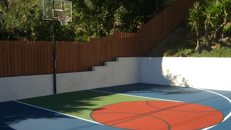 Basket Ball Court Construction