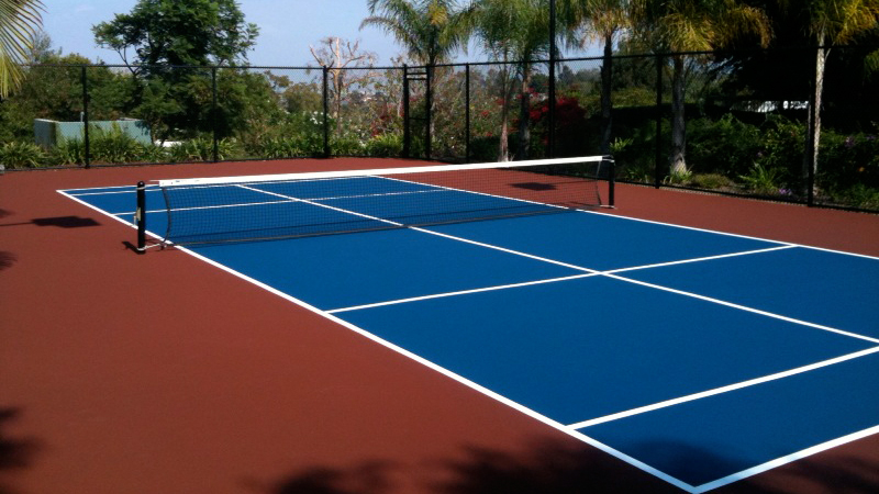 Paddle Tennis Court Construction