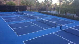Pickleball Courts Surface Construction