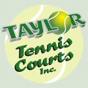 Taylor Tennis Courts Logo